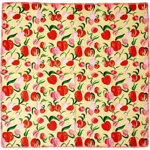 """rice Stoffserviette »2er-Set Baumwoll-Servietten """"Peach"""", 40x40cm«, apricot"""
