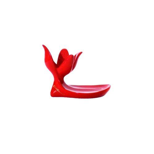 Colani Eierbecher »Luigi Eierbecher«, (1 Eierbecher-tlg), rot