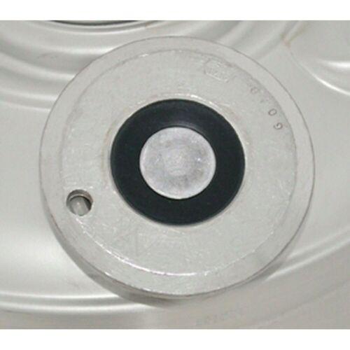 ich-zapfe Bierzapfanlage Bier-Fitting für Reinigungsbehäter aus Edelstahl, reinigungsbehälter:flach- fitting, reinigungsbehälter:flach- fitting