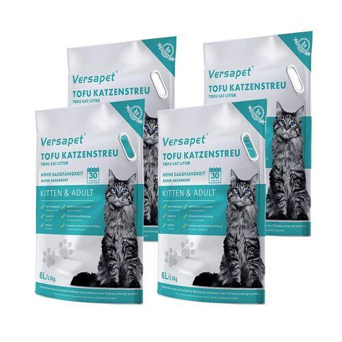 CatAmore Katzenstreu »Naturstreu Katzenstreu Klumpstreu Versapet 4 x 2,6 kg«
