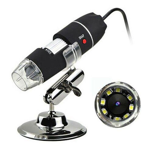 Gotui »USB-Mikroskop« Digitalmikroskop (Digitale Lupe Endoskop-Videokamera mit 8LED,1000X Zoom HD 1080P)