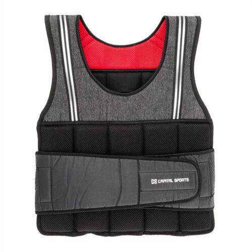 Capital Sports Gewichtsweste »Vestpro 10 Gewichtsweste Weightvest 10 kg 23 Gewichte«