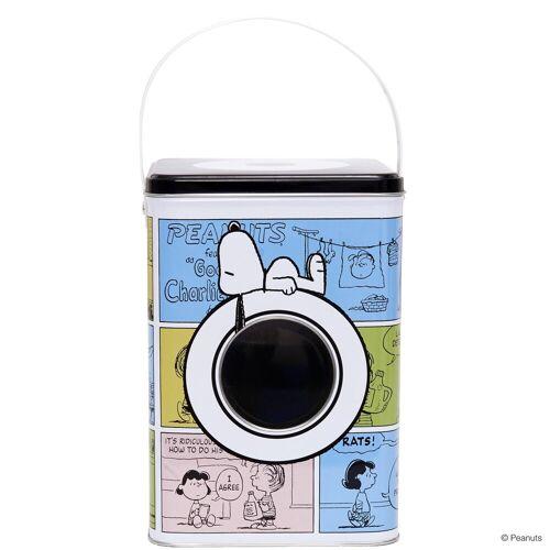 BUTLERS Vorratsdose »PEANUTS Waschpulverdose Snoopy & Friends Höhe 20cm«, Weißblech