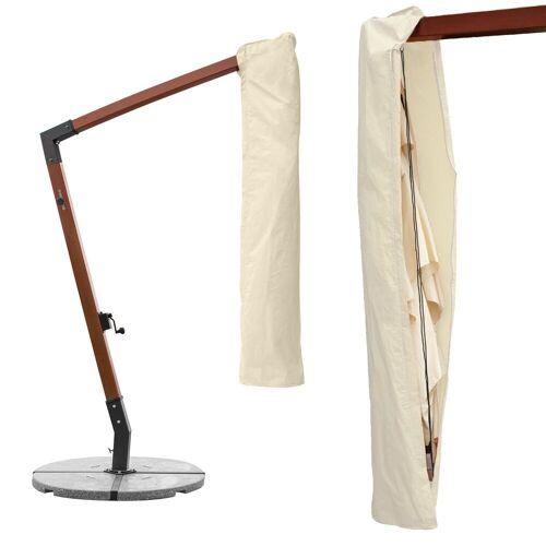 anndora-sonnenschirm Sonnenschirm-Schutzhülle »Schutzhülle für eckige Ampelschirme 3 x 3 m Sonnenschirm Husse - Farbwahl«
