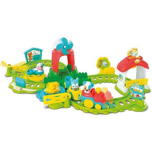 Clementoni® Spielzeug-Eisenbahn »Die Farm-Eisenbahn«