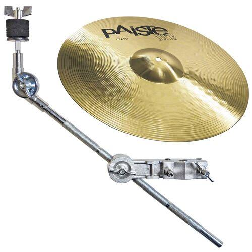 Paiste Schlagzeug »101 Crash Becken 14 + Beckenarm«