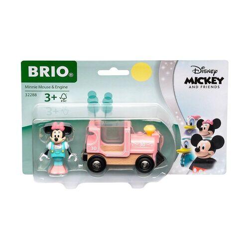 Brio Spielzeug-Eisenbahn »BRIO Minnie Maus Lokomotive«
