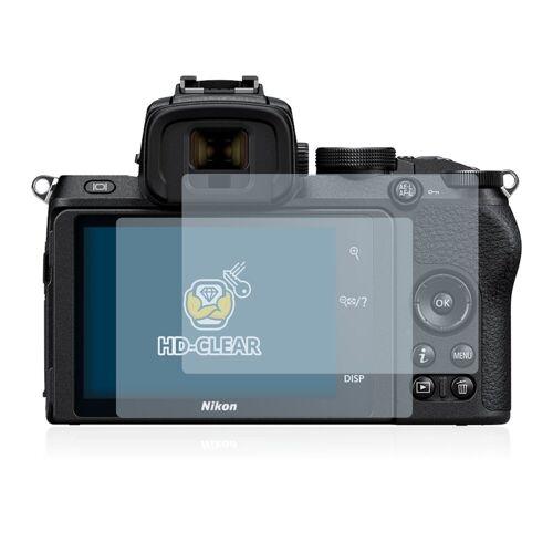 BROTECT Schutzfolie »für Nikon Z 50«, (2 Stück), Folie Schutzfolie klar