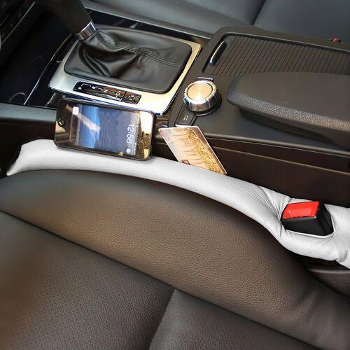 IVSO Autositzbezug »Autositzauflage, Autositz Lückenfüller Lückenkissen(2-St)«, grau