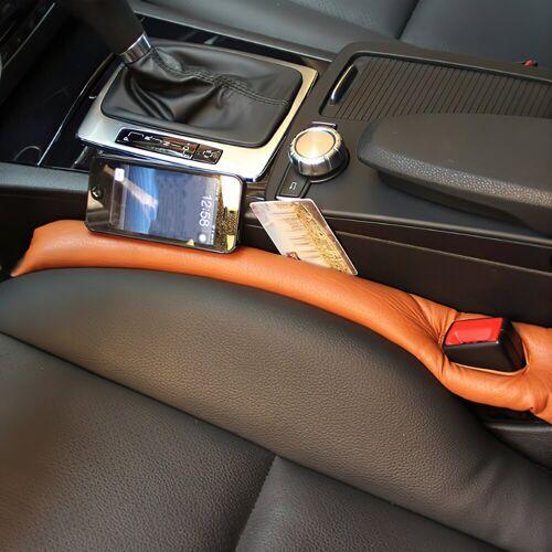 IVSO Autositzbezug »Autositzauflage, Autositz Lückenfüller Lückenkissen(2-St)«, braun
