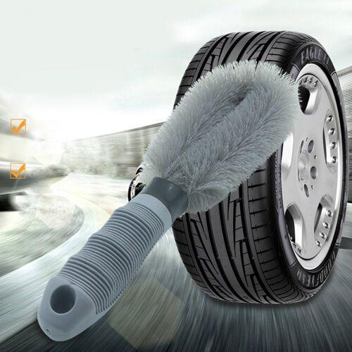 IVSO Autowaschbürste »Premium Felgenbürste für eine effektive Reinigung bis tief ins Felgenbett,«, , Felgen Bürste zur schonenden Pflege von Stahl- und Alufelgen - Felgenbürste Alufelgen, Felgenbürste lang