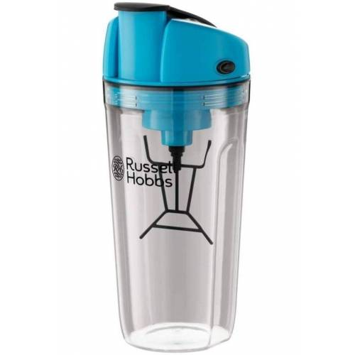 RUSSELL HOBBS Shaker »InstaMixer Mixer Standmixer Nahrungsergänzungsmittel Eiweiß-Pulver Creatin Fitness-Getränke«, Kunststoff, (Set, 2-tlg), Shaker, Micro-USB-Ladefunktion