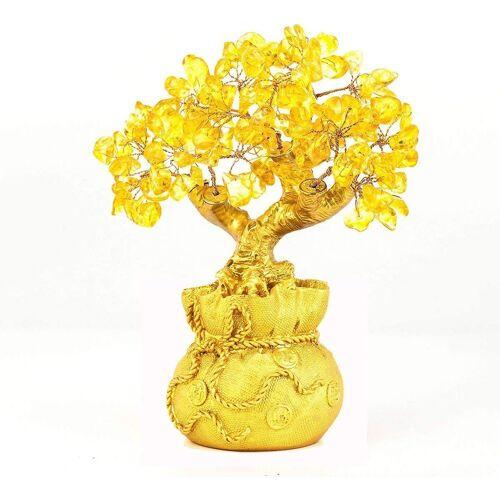 kueatily Charm Kristall »Home Tisch Büro Feng Shui Dekoration Kristall Geldbaum für Reichtum und viel Glück« (1-tlg)