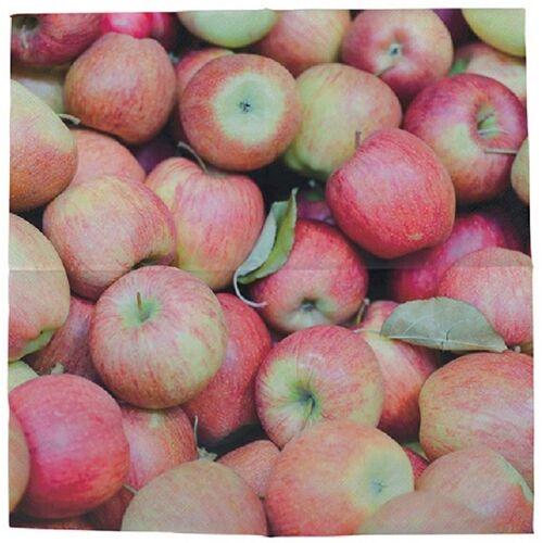 Linoows Papierserviette »20 Servietten reiche Apfelernte, Äpfel im Herbst«, Motiv reiche Apfelernte, Äpfel im Herbst