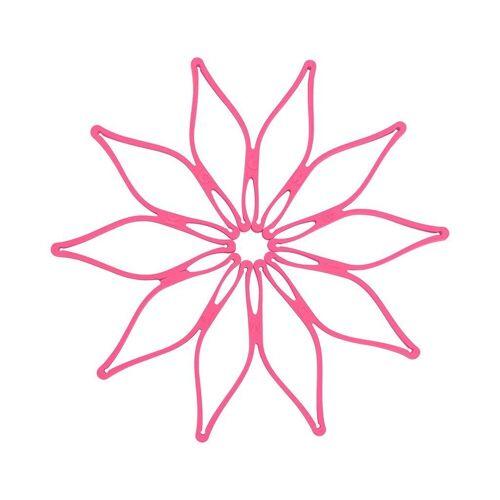 Kochblume Topfuntersetzer Vario, Hitzebeständig bis 230°, pink