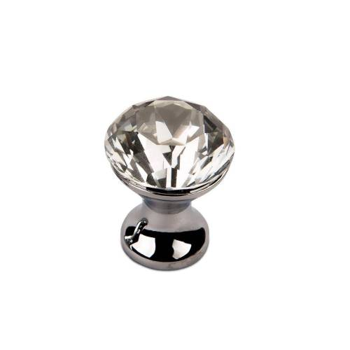 SO-TECH® Möbelknopf, Crystal-Line Chrom / Kristallglas 22 mm;25 mm