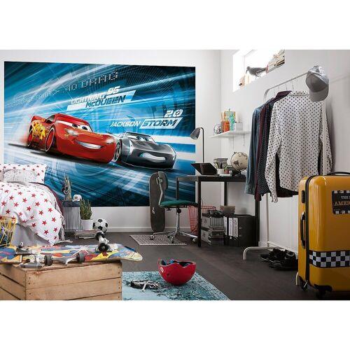 "Komar Fototapete »Fototapete ""Cars 3 Simulation"", 254 x 184 cm«"