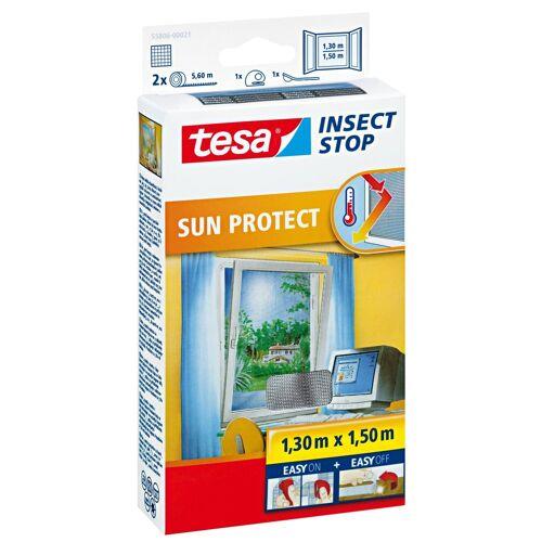 tesa Insektenschutz-Fenster »Insect Stop Fliegengitter mit Sonnenschutz für Fenster«, (1-St), Insektenschutz, Blendschutz, Sonnenschutz