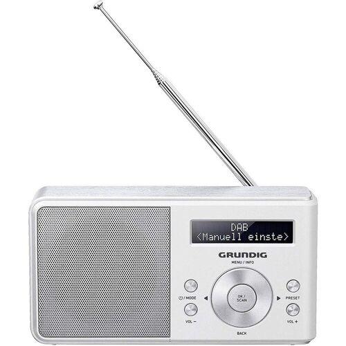 Grundig »Music 5000 DAB+ Portables Radio weiß« Radio