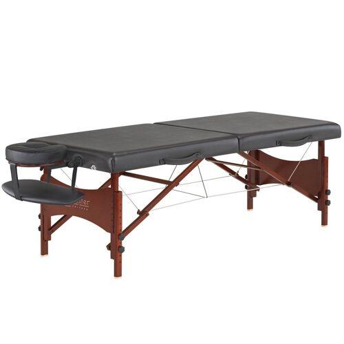Master Massage Massageliege »Roma LX Mobil Massagetisch Massagebett Klappbar Therapiebank Portable Beauty Bed Mahagoniholzbeine Tragetasche Paket« 71 cm