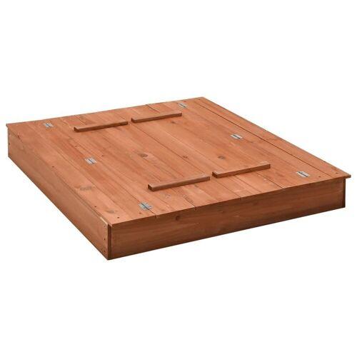 vidaXL Sandkasten »Sandkasten Tannenholz 95×90×15 cm«