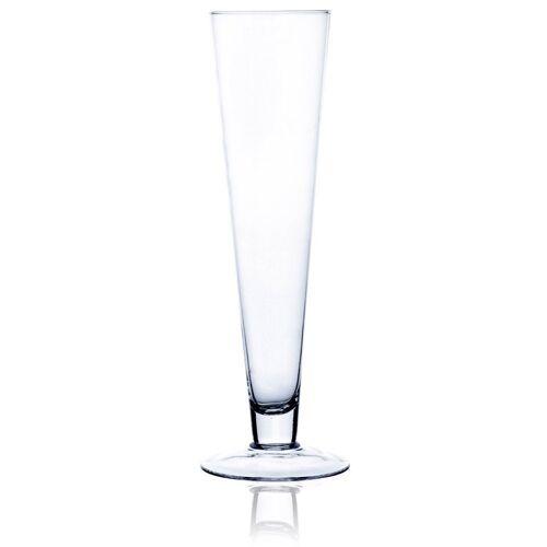 matches21 HOME & HOBBY Blumentopf »Dekovase Blumenvasen Bodenvasen Standvasen Glas konisch 40 cm« (1 Stück) 11 cm x 40 cm;11 cm x 60 cm;11 cm x 80 cm