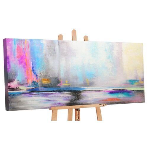 ART YS-Art Gemälde »Nordlicht 038«