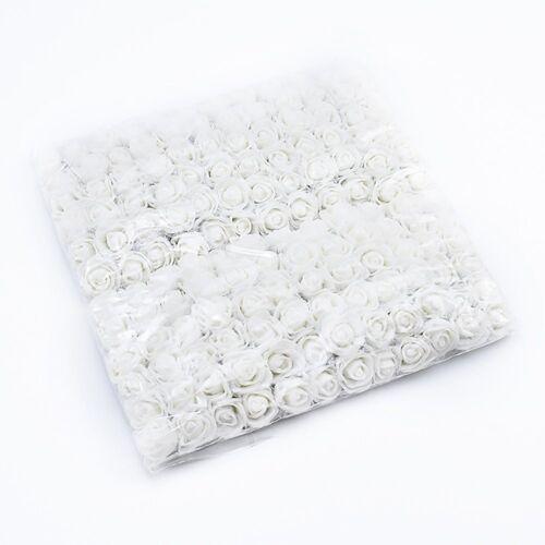 Baesset Kunstblume »144 Stück 2.5cm Schaum Künstliche Rosen Kunstblumen Blumen Kunstblume Hochzeit DIY Bär Deko«, , Weiß
