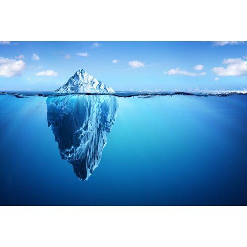 DesFoli Poster »Eisberg Arktis Meer Spiegelung P1344« 120 cm x 80 cm;150 cm x 100 cm;90 cm x 60 cm