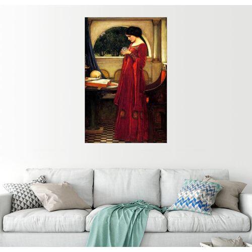 Posterlounge Wandbild, Die Kristallkugel 20 cm x 30 cm;40 cm x 60 cm;60 cm x 90 cm