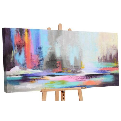 ART YS-Art Gemälde »Nordlicht 2 111«