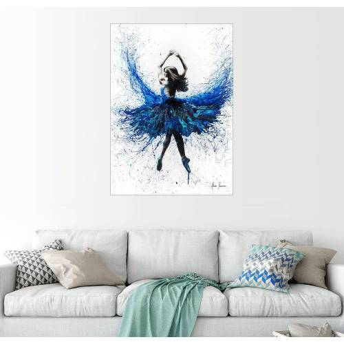 Posterlounge Wandbild, Kristall-Tanz 30 cm x 40 cm;50 cm x 70 cm;60 cm x 80 cm;70 cm x 90 cm