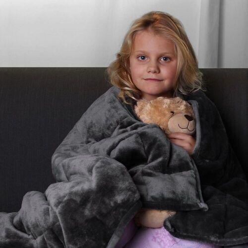 yourGEAR Gewichtsdecke, »Therapiedecke 3 kg schwere Gewichtsdecke für Kinder, beruhigende Anti-Stress Tagesdecke, 100x150cm Bettdecke«,