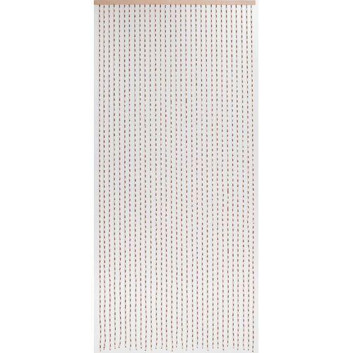 CONACORD Türvorhang »Türvorhang Dehli Vorhang Perlenvorhang Holzperlenvorhang Raumteiler Dekovorhang«, , handgearbeitet und lackiert