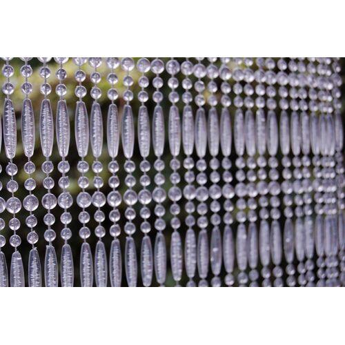 La Tenda Türvorhang »CASA Türvorhang FREJUS 2 Perlenvorhang Fliegenvorhang Insektenvorhang Balkonvorhang transparent«, , individuell in der Länge kürzbar 100 cm x 230 cm