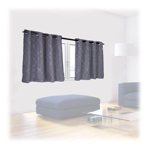 relaxdays Vorhang »Vorhänge 2er Set mit Muster«,  135 cm x 90 cm;135 cm x 120 cm;135 cm x 175 cm