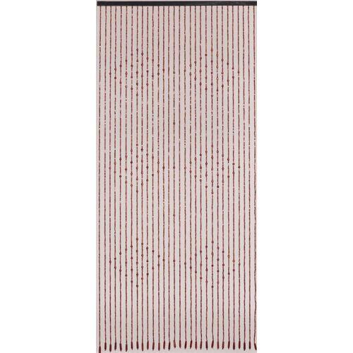 CONACORD Türvorhang »Türvorhang Ganges Vorhang Holz Perlenvorhang Holzperlenvorhang Dekovorhang Raumteiler«, , handgearbeitet und lackiert
