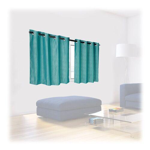 relaxdays Vorhang »Vorhänge 2er Set mit Muster«,  135 cm x 90 cm;135 cm x 120 cm;135 cm x 175 cm;135 cm x 245 cm