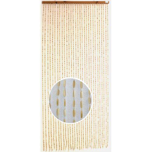 CONACORD Türvorhang »Türvorhang Sumatra Bambus Holzperlenvorhang Vorhang Perlenvorhang Raumteiler«, , hohe Strangdichte