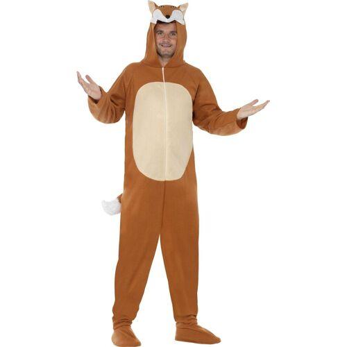 Smiffys Kostüm »Fuchs All-in-One Kostüm unisex« M