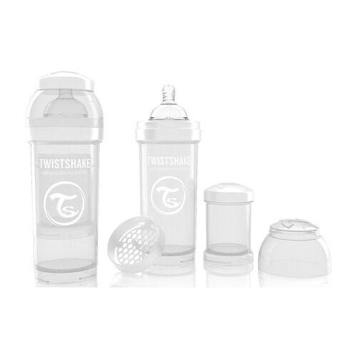 Twistshake Babyflasche »Anti-Kolik Babyflasche, 260 ml, White«, weiß