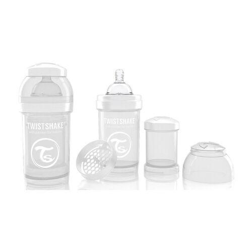 Twistshake Babyflasche »Anti-Kolik Babyflasche, 180 ml, White«, weiß