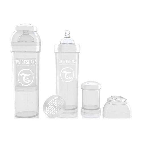 Twistshake Babyflasche »Anti-Kolik Babyflasche, 330 ml, White«, weiß