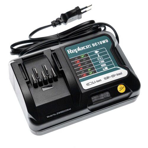 vhbw Werkzeug-Akku-Ladetechnik (passend für Makita HR166DSAE, HR166DSAE1, HR166DSME, HR166DSMJ, HR166DWA, HR166DWAE, HR166DWAJ, HR166DWYE Elektrowerkzeug)