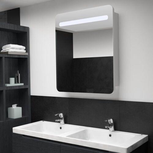 vidaXL Spiegelschrank »LED-Bad-Spiegelschrank 68 x 9 x 80 cm«