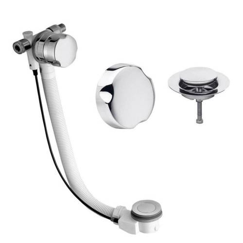 HAK Ablaufgarnitur »Badewannenablaufgarnitur« 700mm, mit Einlauf