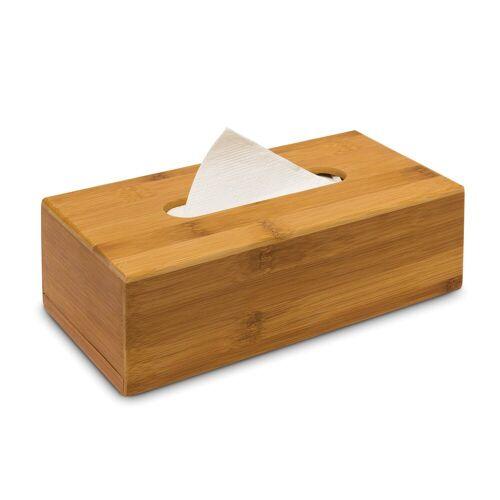 relaxdays Papiertuchbox »Kosmetiktücherbox Bambus 24cm«