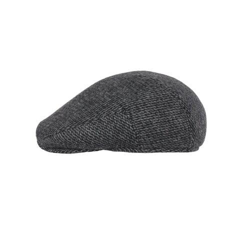 ZEBRO Schiebermütze »Schiebermütze - Flatcap«, grau