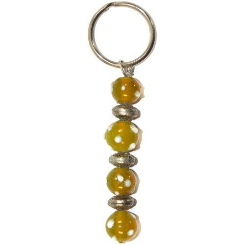 Guru-Shop Schlüsselanhänger »Perlenschlüsselanhänger 37«