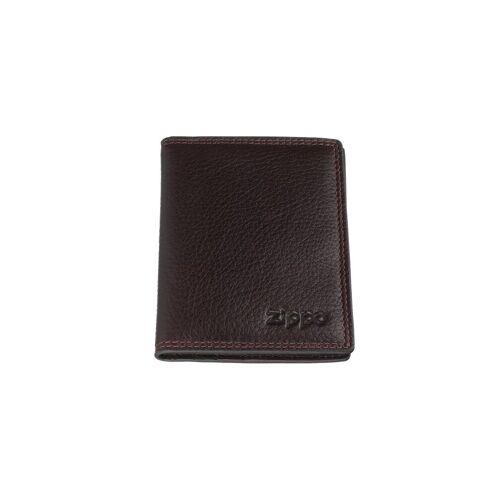 Zippo Geldbörse »Kreditkarten-Geldbörse braun«, Kreditkartenfächer